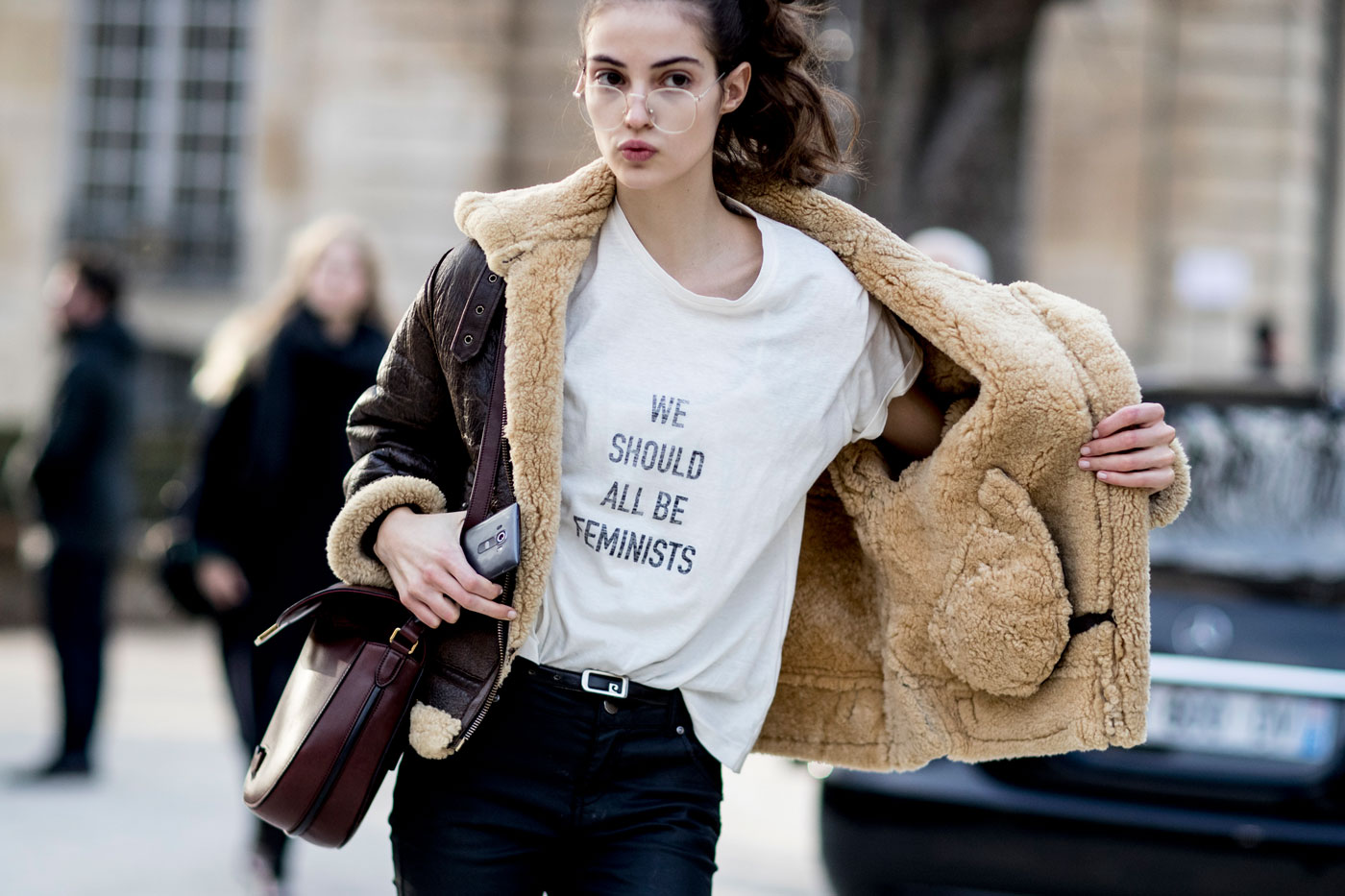 Feminist view of fashion The