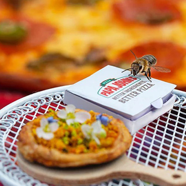 Рекламная кампания, The Bee Sting, Papa Johns