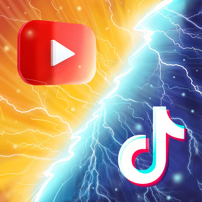 YouTube, TikTok